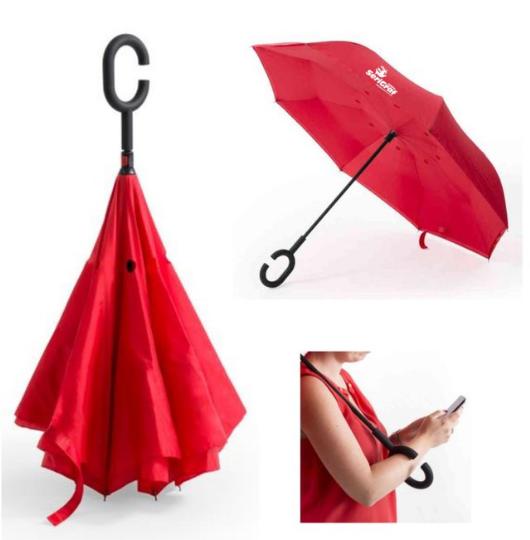 Paraguas Reversible
