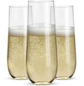 Vaso Champaña De Plástico