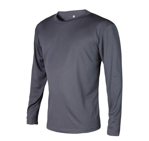 Suéter manga larga U-Fit microfibra