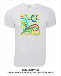 Playera Adulto Sublimable De 180Gr