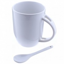 Taza Con Cuchara - Spoon Mug