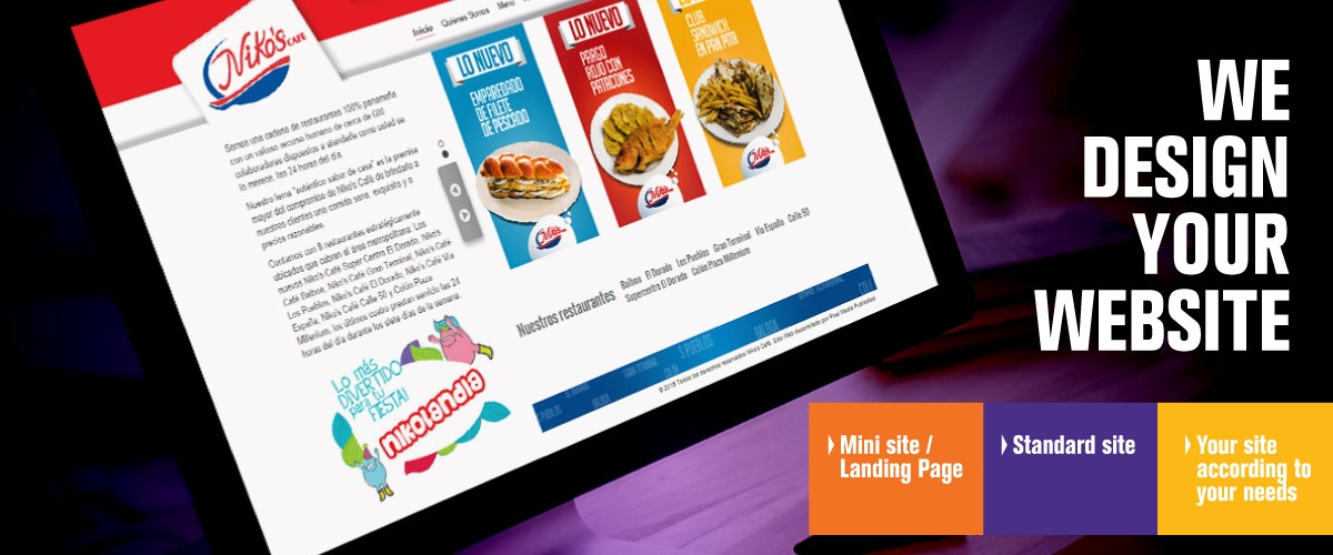 We design your site
