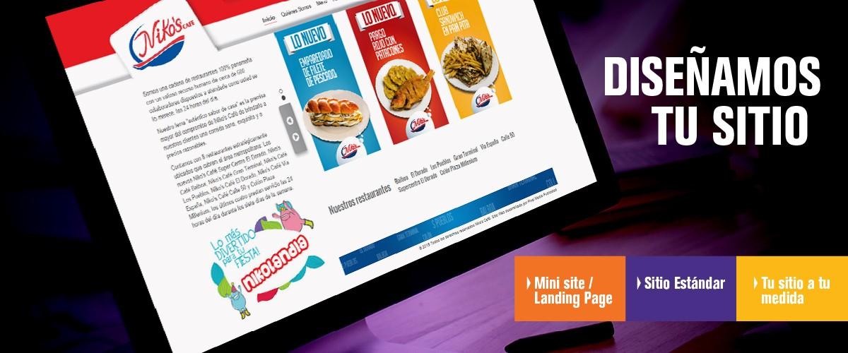 Diseñamos tu sitio web
