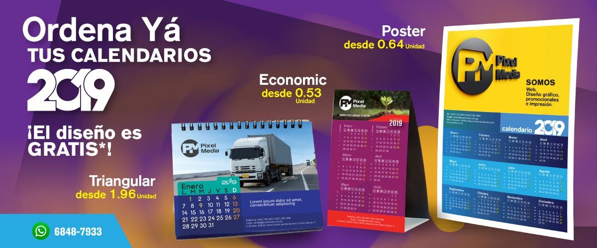 Ordena Ya tus Calendarios 2019