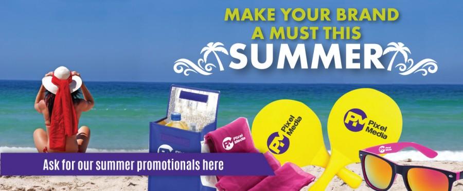 Summer Promotional merchandising
